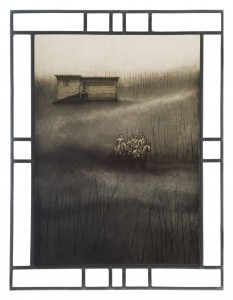 1 Escape on Little Black (panel 1) by Janine Tanzer (2)