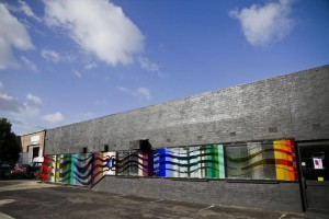 19Proj - Double Spectrum Mural, Thomastown by Peter Toyne VIC 1