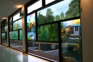 3 Helping Healing Hoping windows, Mersey Community Hospital, Latrobe, TAS by Merinda Young