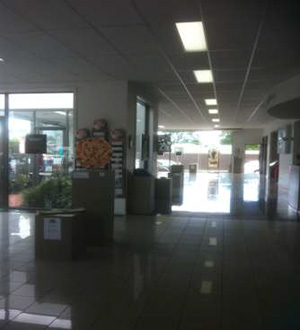 Looking north in the Martin's Garage Showrooms in Mansfield, Victoria – commended venue for the MAGE 2013.